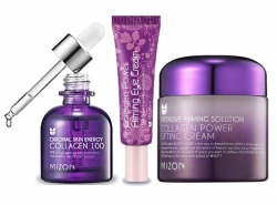 Mizon Collagen Lifting krém 75ml Oční 10ml Collagen 100 sérum 30ml
