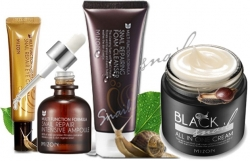 Mizon Snail Black 75ml Sérum 30ml Pěna 60ml a Oční Krém 15ml