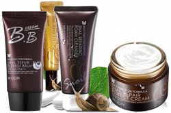 Mizon Snail Perfect krém 50ml Oční Krém 15ml BB krém 50ml Pěna 60ml