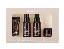 Mizon Snail Miniature Set Pěna 30ml Toner 50ml Essence 50m Krém 15ml